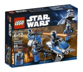 Lego 7914 Mandalorian Battle Pack 68 Pza Star Wars
