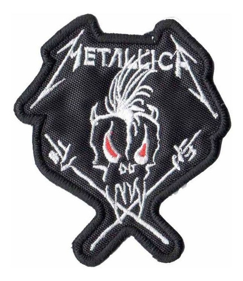 Patch P/ Camiseta Jaqueta Rock Heavy Metal Metallica Dv80272