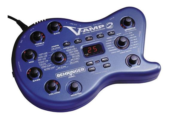 Behringer Vamp 2 Amplificador Procesador Multiefectos V Amp