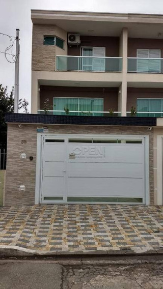 Sobrado Com 3 Suítes Venda, 200 M² Por R$ 1.150.000 - Vila Pires - Santo André/sp - So1945