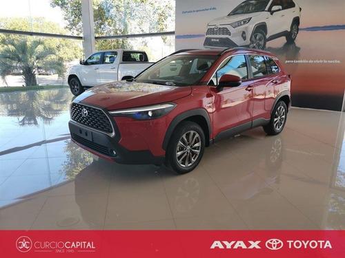 Toyota Corolla Cross Xei Hybrid 2021 Rojo 0km