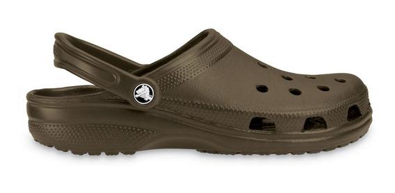 Crocs Originales Classic Marrón Unisex Hombre Mujer