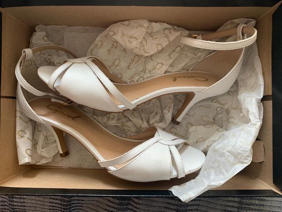 Sandalias Mujer Gacel Color Blanco