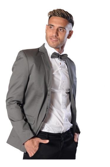 Sacos Hombre Cuello Smoking De Vestir- Fraction Clothes