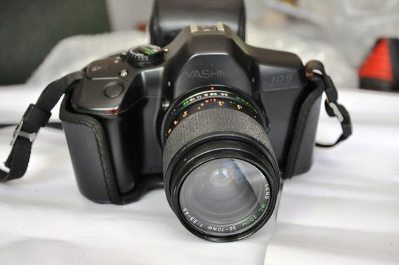 Câmera Yashica 109 Analógica 35-70mm Vendo Corpo Ou Lente Se