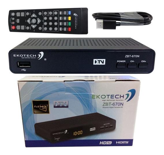 Conversor Digital Para Tv Sinal Isdb-t Usb Função Gravador