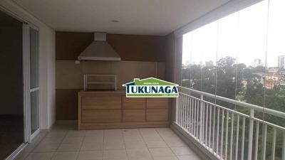 Apartamento Condomínio Isla Com 3 Dormitórios Para Alugar, 114 M² Por R$ 2.510/mês - Vila Galvão - Guarulhos/sp - Ap2234