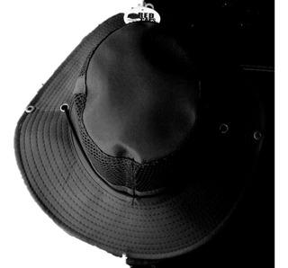 Sombrero Tipo Cazador Con Malla (negro)