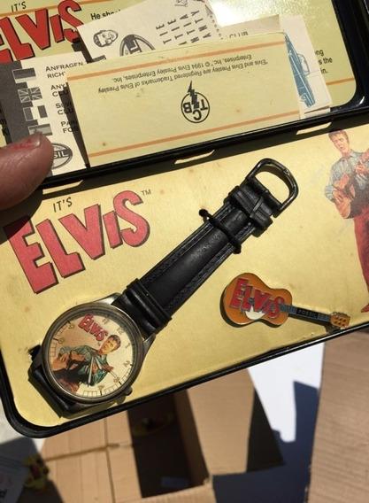 Elvis Presley Relogio Comemorativo Da Fóssil