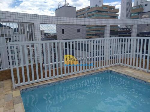 Imagem 1 de 22 de Apartamento Com 1 Dormitório À Venda, 70 M² Por R$ 240.000,00 - Vila Guilhermina - Praia Grande/sp - Ap14475