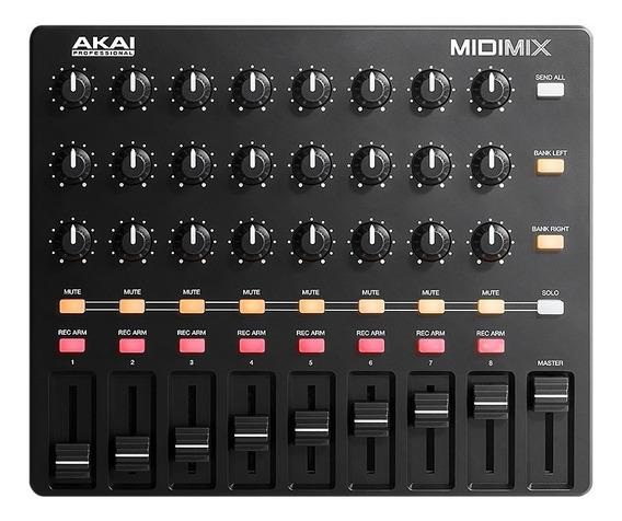 Akai Midi Mix Controlador Midi Dj Daw Ableton Midimix - Gtia