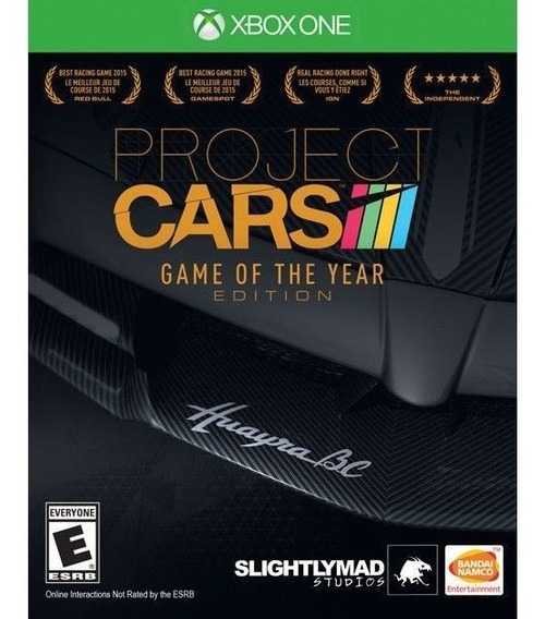 Project Cars Game Of The Year Xbox One Mídia Física Novo