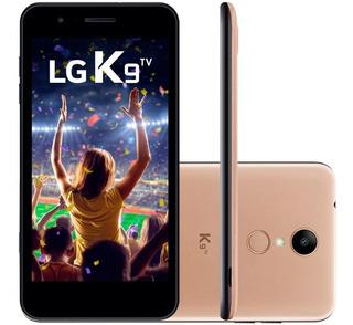 Smartphone LG K9 , Dual Chip, Android 7.0, 8mp, Vitrine