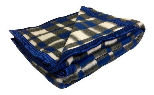 Imagem 1 de 2 de Cobertor Solteiro Guaratinguetá Boa Noite Xadrez Sortido