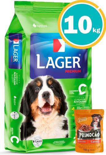Imagen 1 de 6 de Ración Perro - Lager Cachorro + Obsequio Y Envío Gratis