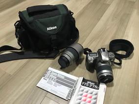 Nikon Camera Profissional F75 + Objetivas 28-80 E 70-300mm