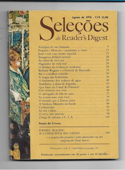 *sll* Revista Seleções Do Readers Digest - Agosto De 1976