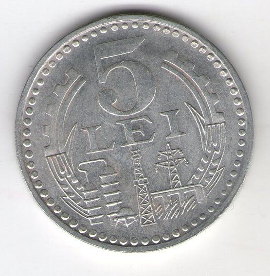 Rumania Moneda 5 Lei 1978 S/c Km#97 - Argentvs
