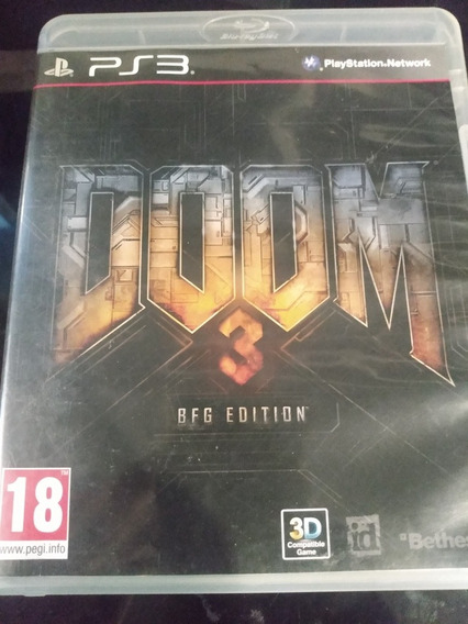 Doom 3 Bfg Edition Ps3 Mídia Física