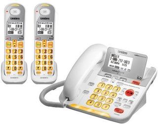 Uniden D3098 Con Cable - Teléfono Inalámbrico De 1.9 Ghz Dec
