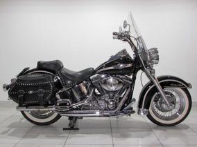 Harley Davidson Heritage Softail - 2003 Preta