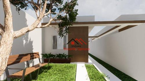 Casa Com 2 Dormitórios À Venda, 64 M² Por R$ 230.000,00 - Balneário Recanto Do Sol - Caraguatatuba/sp - Ca0558