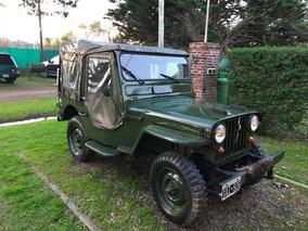 Jeep Willys Cj2a 4x4
