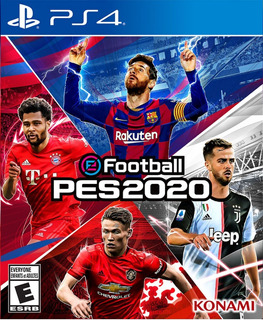 Juego Playstation Ps4 Pes 2020 Pro Evolution Soccer 20
