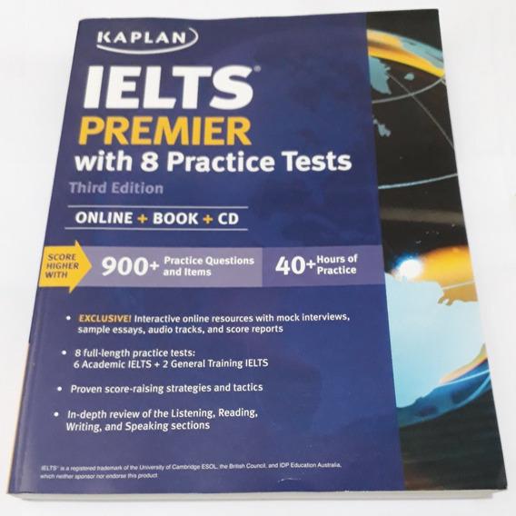 Livro: Ielts Premier With 8 Practice Tests - Com Cd
