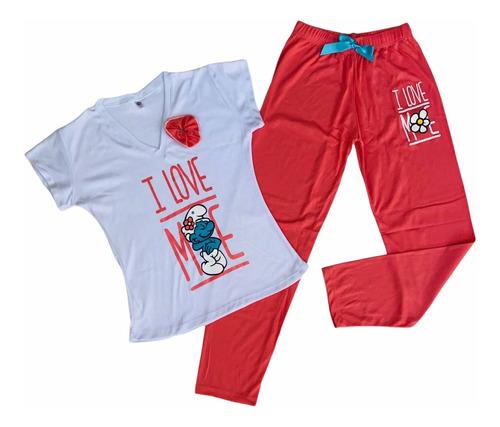 Pijamas Para Mujer En Pantalón Largo