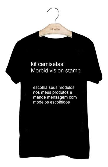 Kit 4 Camisetas