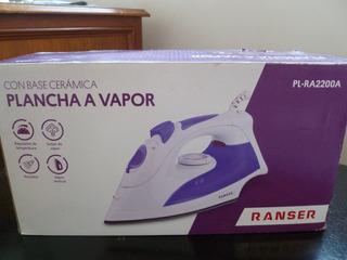 Plancha A Vapor Ranser 2200w Cerámica Pl-ra2200a - Olivos