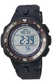 Relógio Casio Pro Trek Prg330 Triplo Sensor Alti, Baro. Term