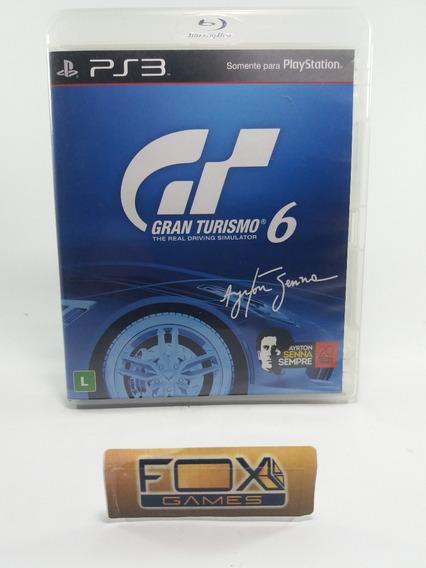 Ps3 Jogo Gran Turismo 6 (seminovo)