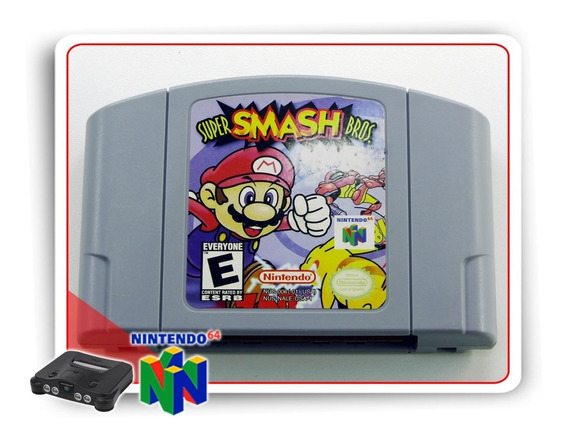 Super Smash Bros N64 Original Nintendo 64