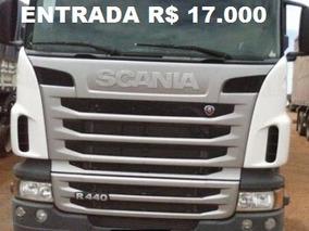 Scania R 440 Ano 2012 Engatado Na Carreta Guerra Ano 2014