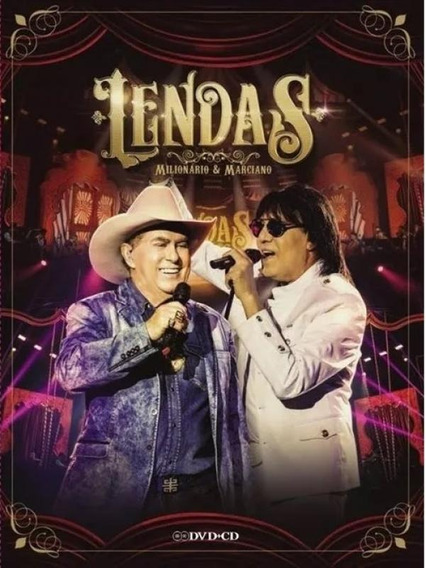 Dvd Milionário & Marciano - Lendas (dvd + Cd)