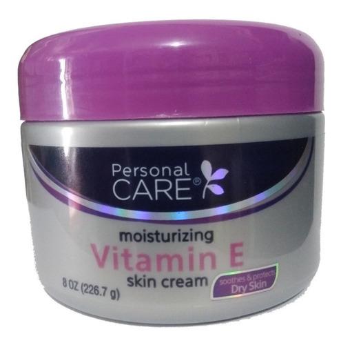 Crema Facial Vitamina E Antiedad E Hidratante 226g