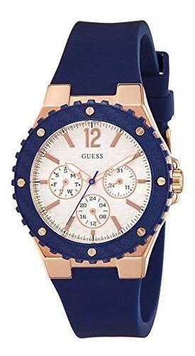 Guess Rubber Ladies Reloj W0149l5