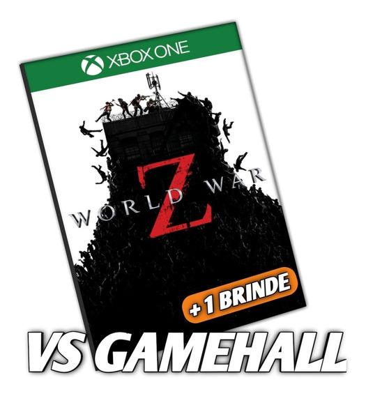 World War Z Xbox One Mídia Digital + Brinde