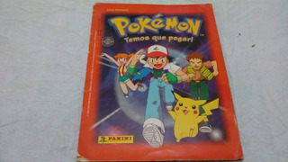 Album Pokemon Temos Que Pegar - Com Poster ( 1 ) Sucata