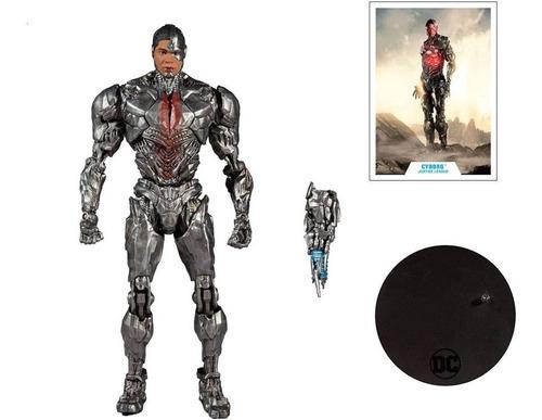 Imagen 1 de 1 de Cyborg Justice League Dc Multiverse Mcfarlane