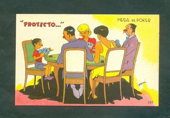 Benz . Proyecto. Tarjeta Postal .