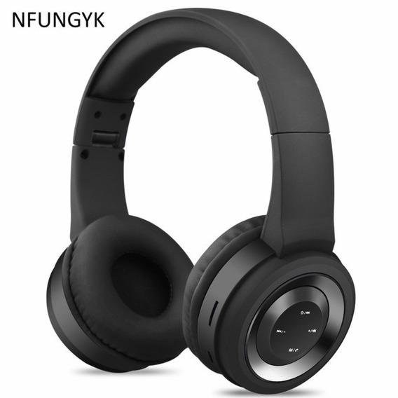 Fone De Ouvido Nfungyk, Bluetooth, Microfone, Fm, Cartão