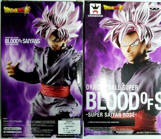 Banpresto Original Ball Super Goku Black Ss Rose
