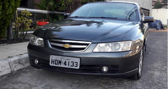 Blindado Omega 3.8 V6 Cinza Grafite 2004 Perfeito-revisado