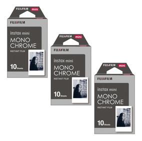 Filme Fujifilm Instax Mini Monochrome Com 30 Fotos