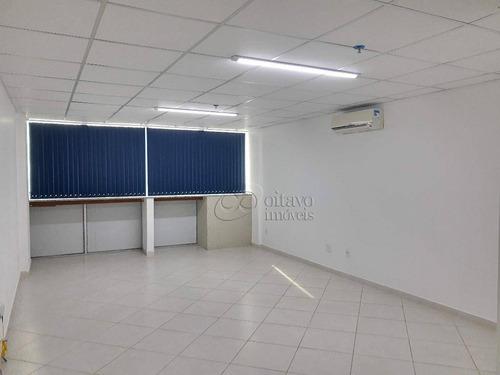 Sala Comercial Para Locação Em Imbetiba, Macaé/rj. - Sa0308