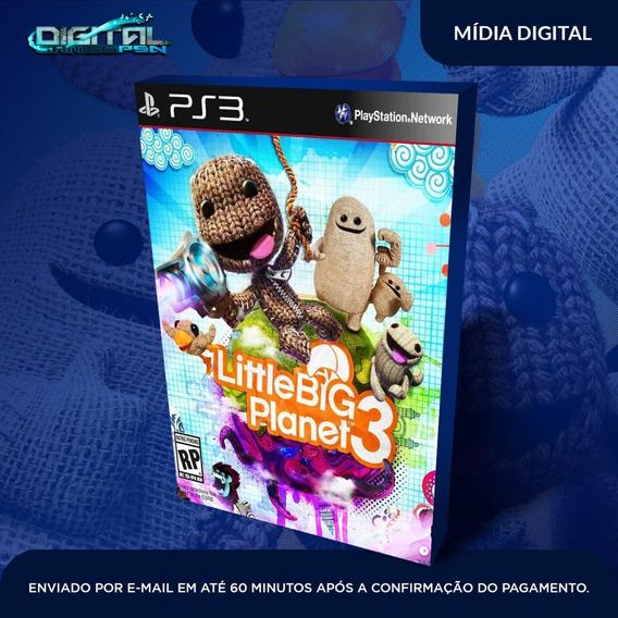 Little Big Planet 3 Ps3 Psn Midia Digital Em 10 Min!