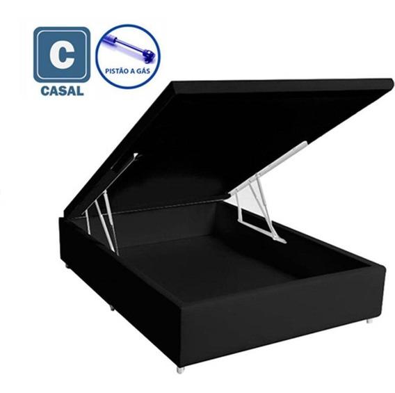 Cama Box Baú Casal 138x188x35 (somos Fabricante)